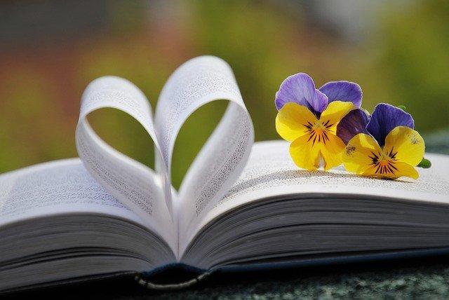 花とハート
